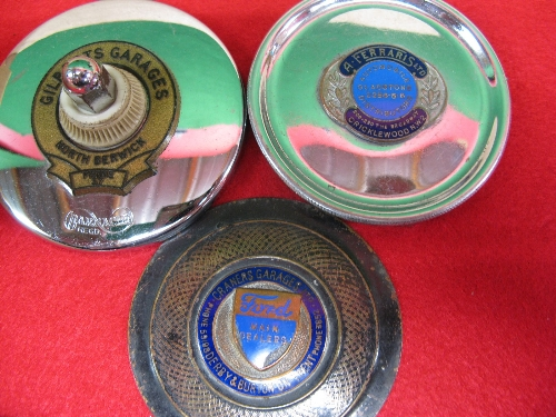 Twelve barnacle etc period tax disc holders for garages in Brighton, Derby, Grays, Hereford, North - Image 2 of 2
