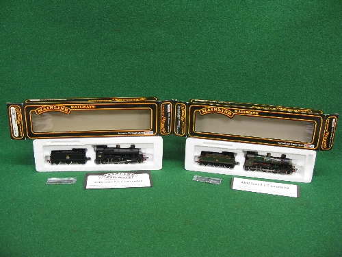 Two 1980's Mainline OO 43XX 2-6-0 tender locomotives No. 5328 in early BR black and No. 4358 in