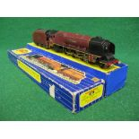 1961-1963 Hornby Dublo 3226 3 Rail locomotive and tender No. 46274 City Of Liverpool in late BR