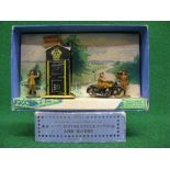 Pre-War Meccano Dinky boxed No. 44 AA Set containing: AA box with destination signs, AA Patrol