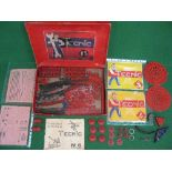 Boxed Tecnic No. 3 (Meccano style construction set) with instructions for No. 3,4 & 5 Made by