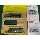 Two Liliput HO scale steam locomotives to comprise: 4-6-0 with tender No. 230.715 in grey and