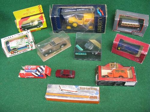 Mixed lot of boxed vehicles from OOC, Burago, Lledo, Corgi, Vitesse, Liberty Classics, Solido etc