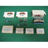 Quantity of boxed OO scale diecast railway accessories to comprise: three Master Models boxes
