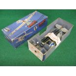 Boxed Frog Mark IV Interceptor Fighter with winding handle and lubricant bottle from The Triang
