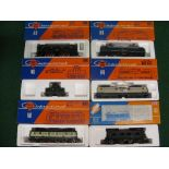 Six boxed HO scale ROCO International overhead electric locomotives for German Railways Please