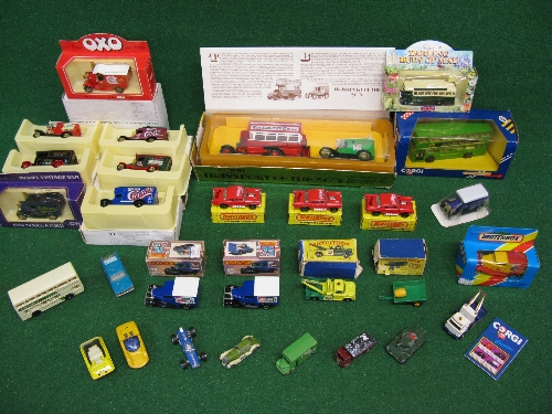 Quantity of boxed model vehicles from Matchbox, Corgi, Lledo, Zyimex and Majorette together with