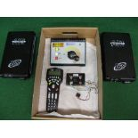 MTH Rail King Z controller with remote controller, platform unit and two accessory interface units