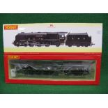 Hornby OO DCC ready R3681 Coronation Class 4-6-2 with tender No. 6241 City Of Edinburgh in LMS lined