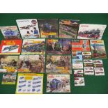 Twenty one model train and vehicle catalogues for: Triang TT, Triang-Hornby, Hornby Railways,