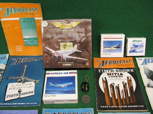 Three boxed diecast commercial airliner models, Corgi American Airlines DC3, 1982 Farnborough Air - Image 2 of 2