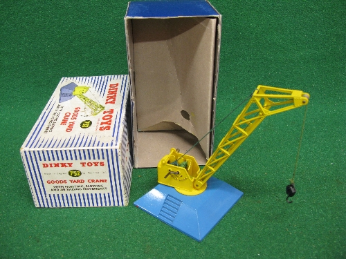 Dinky 752 Goods Yard Crane, boxed with internal packing Please note descriptions are not condition