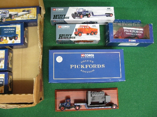 Twelve 1990's Corgi 1:50 scale diecast Pickfords and heavy haulage models to include: Scammels, - Image 2 of 2