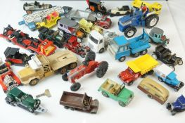Quantity of circa 1960/70s play worn diecast models to include Matchbox Models of Yesteryear,