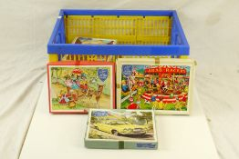 10 x Victory plywood jigsaw puzzles, unchecked for completeness