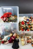 Large quantity of small sized dolls to include Norah Wellings, Greek Boy (NYC) etc, plastic,