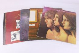 Vinyl - The Nice & ELP 4 LP's to include The Nice (IMSP 026), Pictures At An Exhibition (HELP 1),