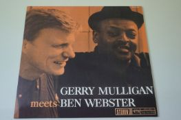 Vinyl - Gerry Mulligan Meets Ben Webster (Verve Records MG VS-6104) stereo remastered LP on 180gm
