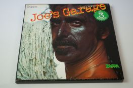 Vinyl - Frank Zappa Joes Garage 1,2,3 box set (ZAPPA 20). Sleeves & Vinyl EX, box has some buffering