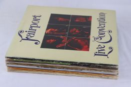 Vinyl - Fairport Convention 13 LP's to include Liege and Life, Angel Delight, Full House x 2, Live