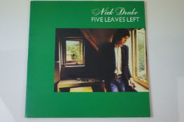 Vinyl - Nick Drake Five Leaves Left (SVLP 163) reissue 180gm. Sleeve & Vinyl EX