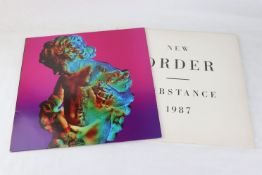 Vinyl - New Order 2 LP's to include Substance 1987 (Fact 200) Sleeve & Vinyl VG+ and Technique (Fact