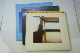 Vinyl - Dire Straits 3 LP's to include Brothers In Arms (Warner Bros 49377-1) Love Over Gold (