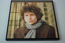 Vinyl - Bob Dylan Blonde On Blonde Mobile Fidelity Sound Lab MFSL 3-45009 special ltd edition no