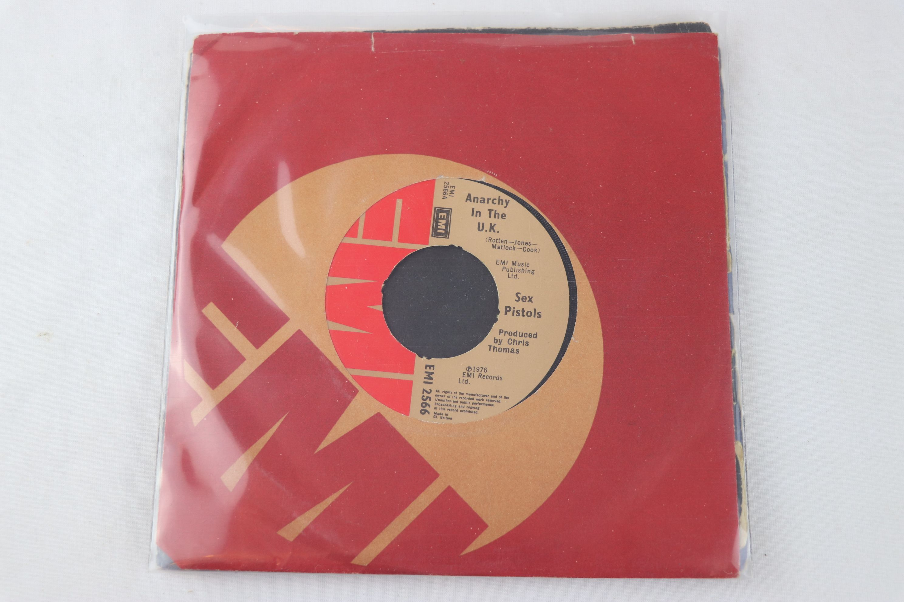 PUNK - SEX PISTOLS - PACK OF 7 ORIGINAL PRESSING SINGLES. 1. GOD SAVE THE QUEEN, 1977 VIRGIN RECORDS - Image 6 of 8