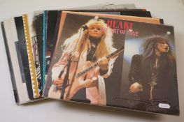 Vinyl - Heart 9 LP's, 3 picture discs, and one 12 inch single. LP's include The Art Of Love, Private