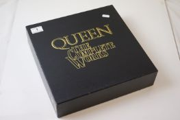 Vinyl - Queen The Complete Works Box Set (GB 1) numbered 000391 14 LP's together with map and two