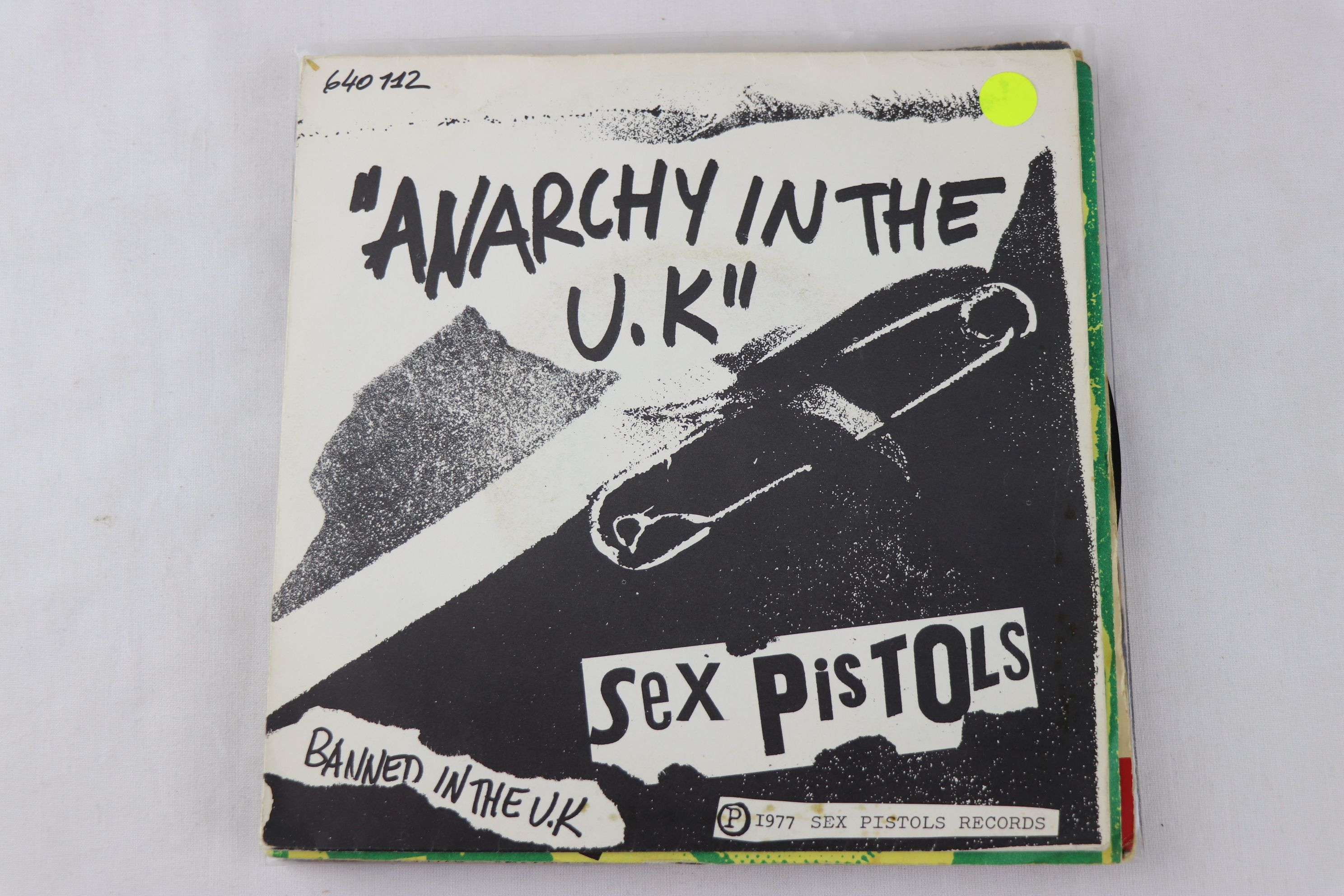 PUNK - SEX PISTOLS - PACK OF 7 ORIGINAL PRESSING SINGLES. 1. GOD SAVE THE QUEEN, 1977 VIRGIN RECORDS - Image 3 of 8