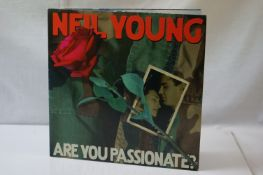 Vinyl - Neil Young Are You Passionate? (Vapor Records 9362-48111-1). Sleeve & Vinyl EX