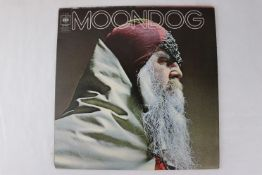 Vinyl - Moondog self titled (CBS 63906) early CBS advertising inner, gatefold sleeve. Sleeve & Vinyl