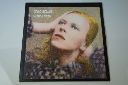 Vinyl - David Bowie Hunky Dory (SVLP 265) Remastered at Abbey Road Studios 1999, insert included.