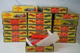 18 x Boxed Merit 1:24 unbuilt plastic models kits to include 2 x 4601 Alfa Romeo Type 158 1950, 4624