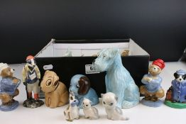 Collection of Ceramic Animals including Szeiler, Beswick, Wade, Sylvac style (approx. 29 in total)