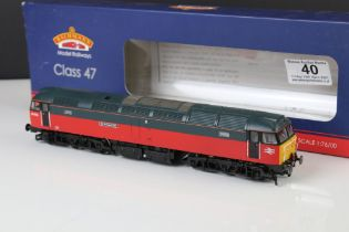 Boxed Bachmann OO gauge 31652 Class 47 Diesel 47474 Sir Rowland Hill Parcels Red & Grey 21 DCC