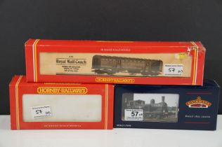 Two boxed OO gauge locomotives to include Hornby R316 LNER 0-6-0T Class J83 and Bachmann 31055 J72