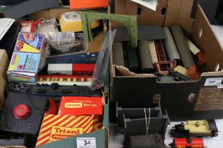 Quantity of OO gauge model railway to include 16 x items of rolling stock, Transformers, tenders,