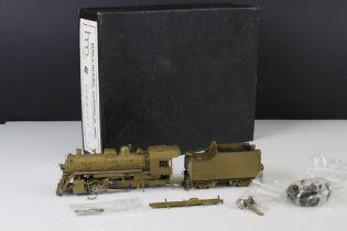 Boxed Hallmark Models INC HO gauge ICRR 2-8-0 brass locomotive & tender, made in Korea by DongJin,