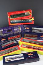 11 Boxed OO gauge items of rolling stock to include 5 x Bachmann, 5 x Hornby & Dapol featuring