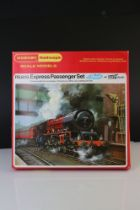 Boxed Hornby OO gauge RS609 Express Passenger Set with smoke, with Duchess of Kent locomotive, 2 x