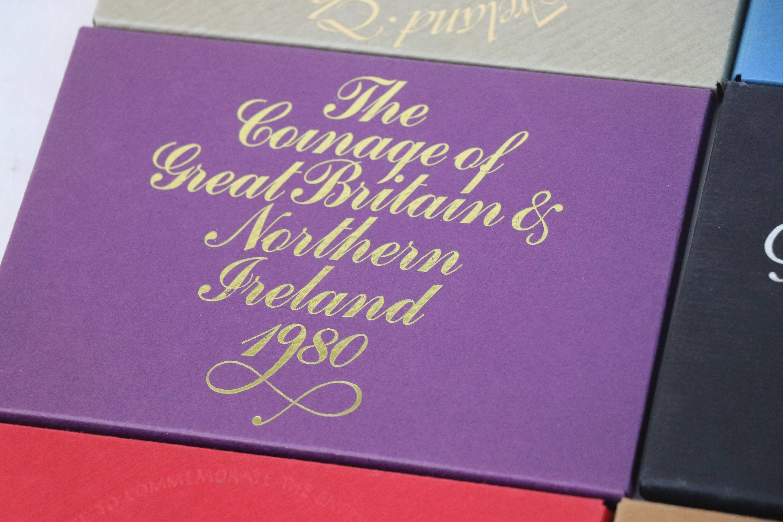 A collection of eleven Royal Mint coinage of Great Britain and Northern Ireland year sets to include - Image 8 of 13