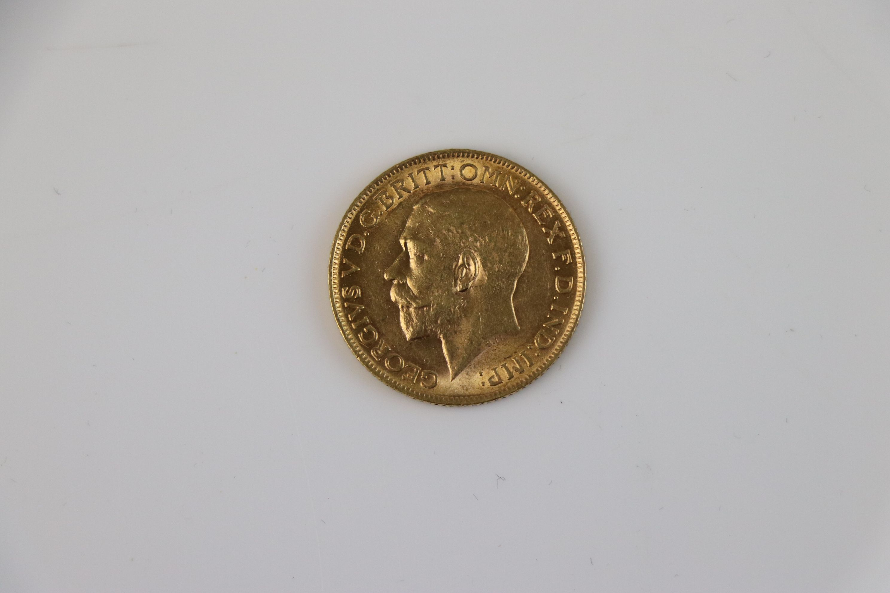 A King George V Full gold Sovereign dated 1912. - Image 3 of 3