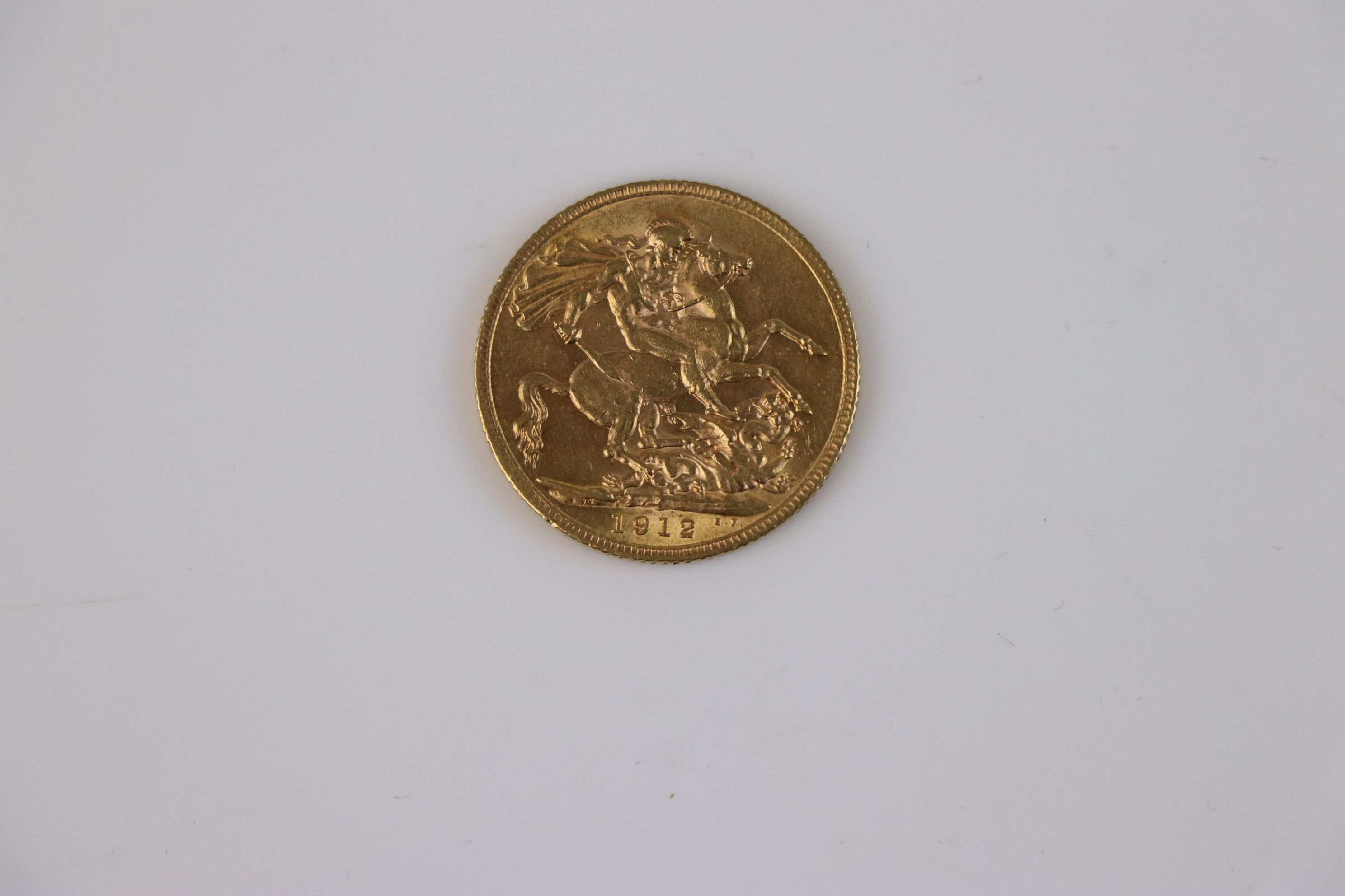 A King George V Full gold Sovereign dated 1912. - Image 2 of 3