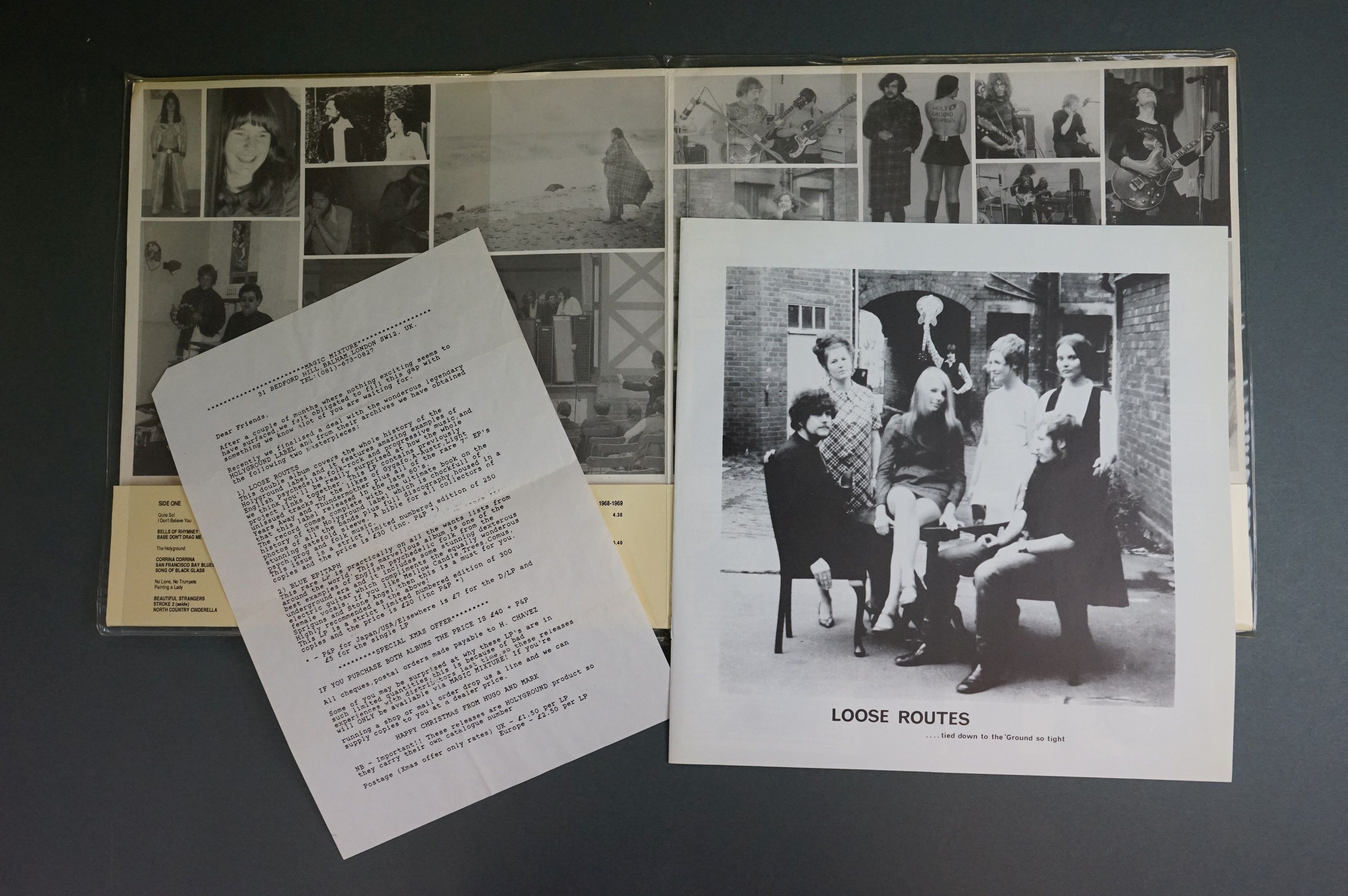 Vinyl - Compilation Loose Routers Music From Holyground 1966-1975 MG121 Double Album, 1991 - Image 3 of 6