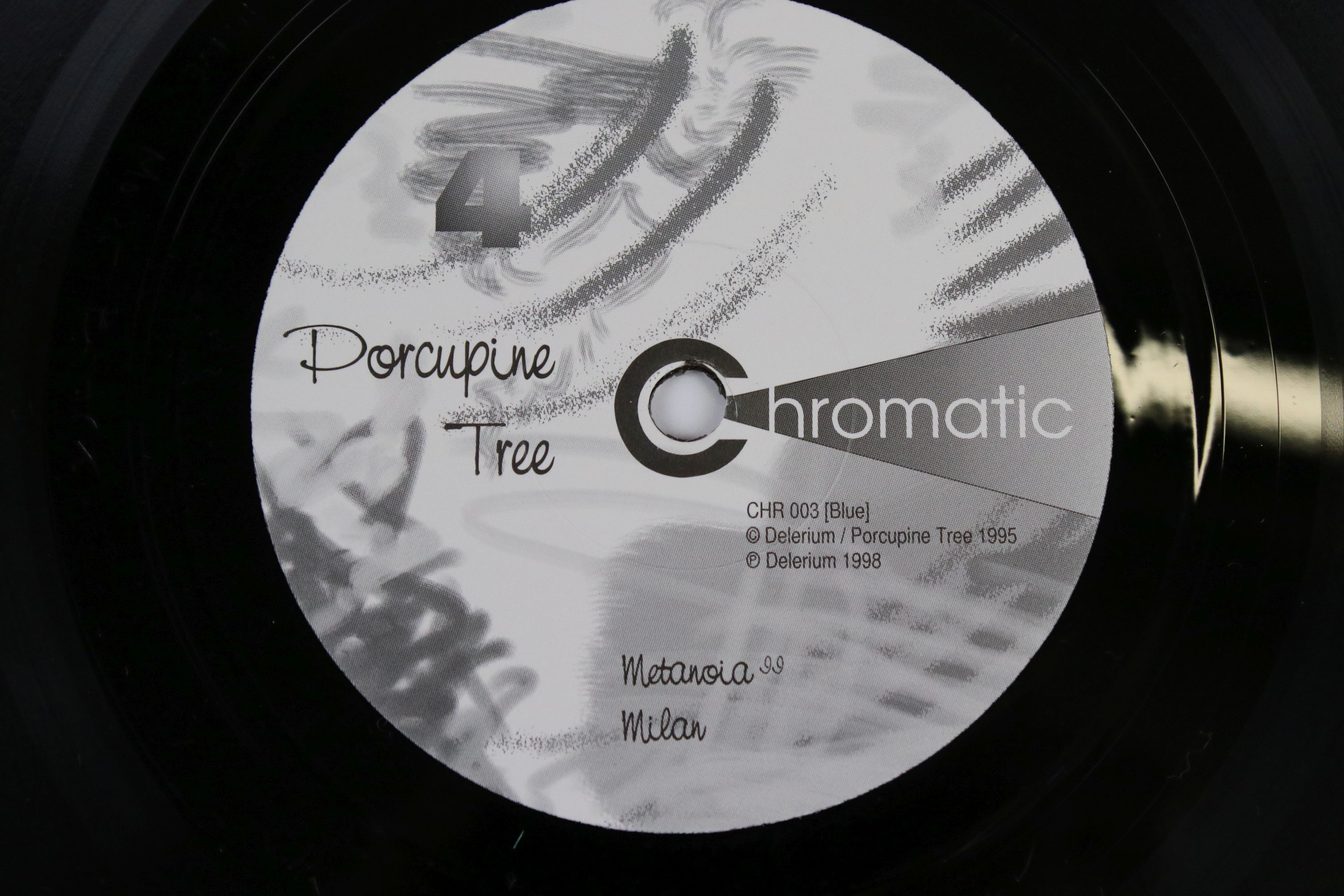 """Vinyl - Porcupine Tree, Metanoia, limited edition 10"""" double LP, Chromatic CHR 003, in original - Image 4 of 5"""
