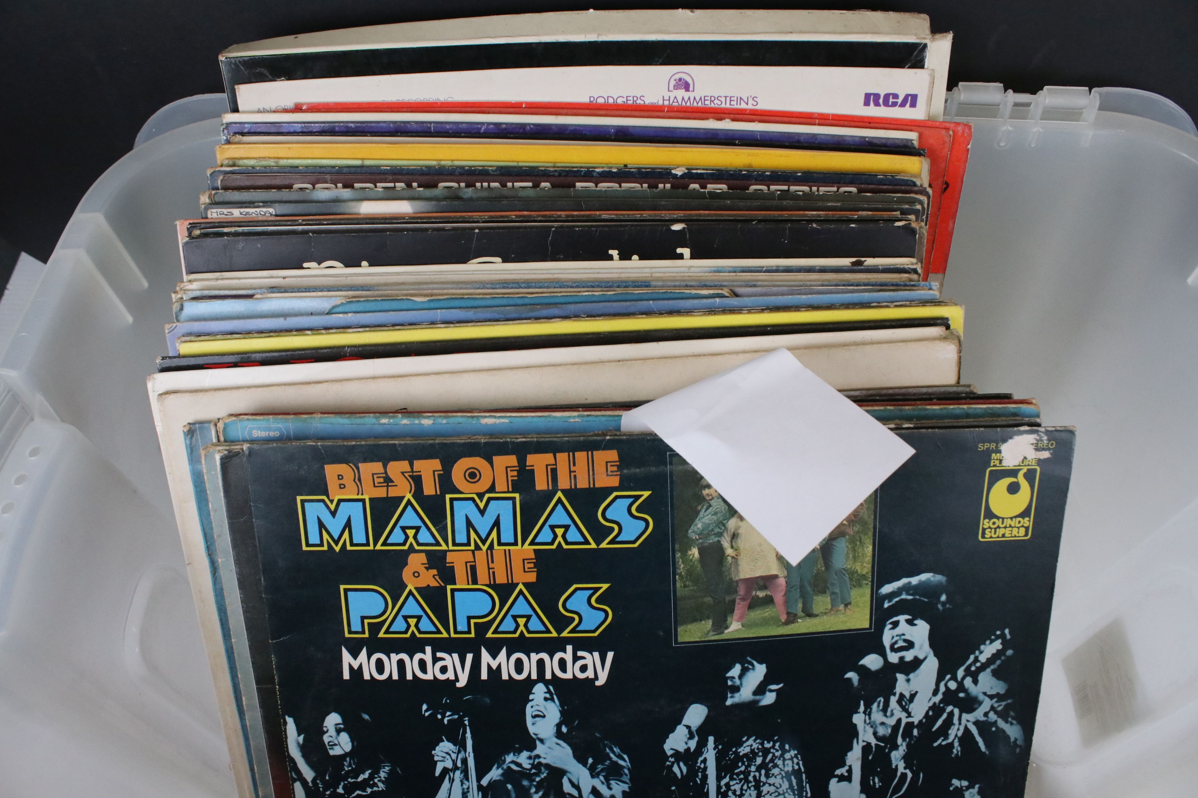 Vinyl - Rock / Pop / Classical - collection of approx 30 LP's to include The Rolling Stones (Spanish - Image 3 of 9
