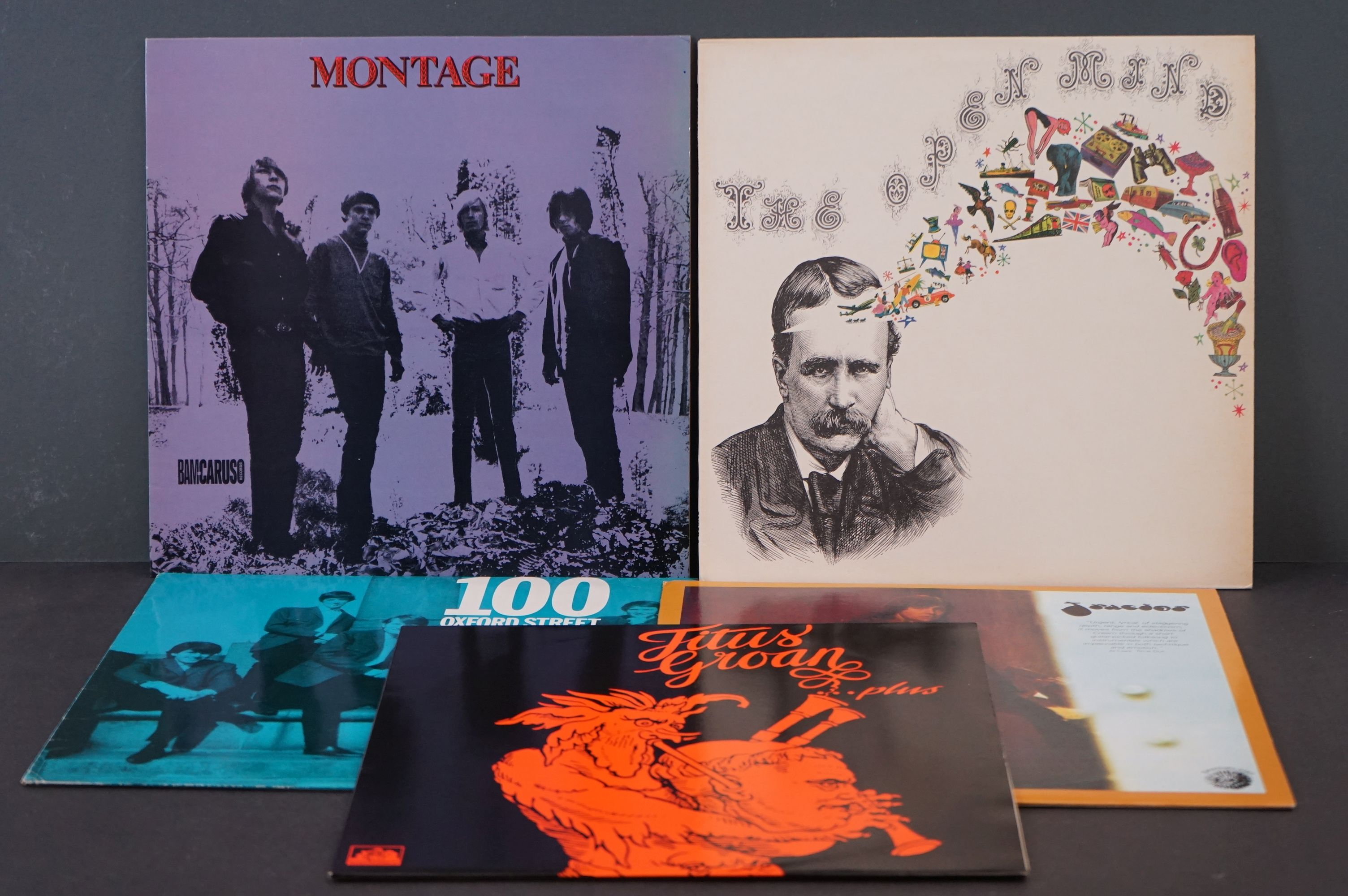 Vinyl - Psych / Prog - Five long deleted reissues of UK Psych / Prog Albums. Open Mind - Open